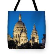 Sacre Coeur - Night View Tote Bag