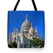Sacre Coeur Basilica Tote Bag