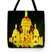 Sacre-coure Cathedral Paris  Tote Bag