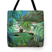 Sacred Cenote At Chichen Itza Tote Bag