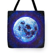 Sacred Feminine Blue Moon Tote Bag