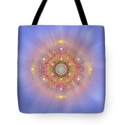 Sacred Geometry 156 Tote Bag