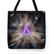 Sacred Geometry 186 Tote Bag