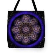 Sacred Geometry 218 Tote Bag