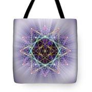 Sacred Geometry 245 Tote Bag
