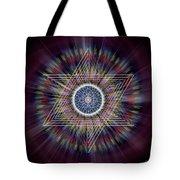 Sacred Geometry 317 Tote Bag