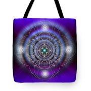 Sacred Geometry 369 Tote Bag