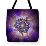 Sacred Geometry 386 Tote Bag