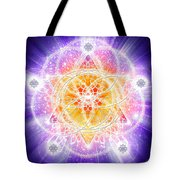 Sacred Geometry 67 Tote Bag