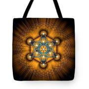 Sacred Geometry 68 Tote Bag