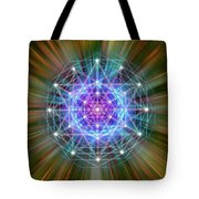 Sacred Geometry 72 Tote Bag