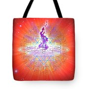 Sacred Geometry 73 Tote Bag