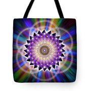 Sacred Geometry 74 Tote Bag