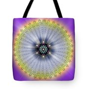 Sacred Geometry 99 Tote Bag