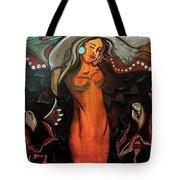 Sacred Prayer Dance Tote Bag