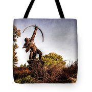 Sacred Rain Arrow Tote Bag by Tamyra Ayles