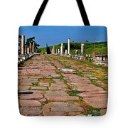 Sacred Road To Asclepion In Pergamum-turkey  Tote Bag