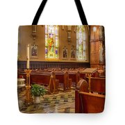 Sacred Space - Our Lady Of Mt. Carmel Church Tote Bag
