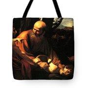 Sacrifice Of Issac Tote Bag