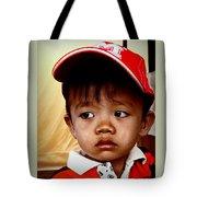 Sad Eyes Tote Bag