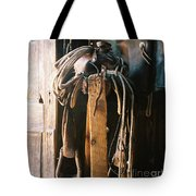 Saddle And Chaps Tote Bag