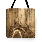 Saddle Tote Bag