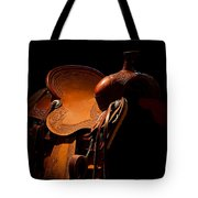 Saddle In The Shop Tote Bag