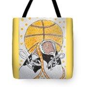 Saddle Oxfords And Basketball Tote Bag