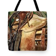 Saddle Texture Tote Bag