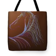 Saddlebred Tote Bag