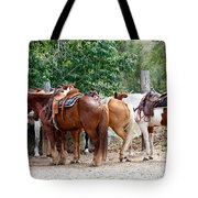 Saddled Tote Bag