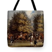 Saddling In The Warren, Print Made Tote Bag