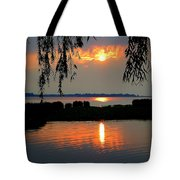 Sadness At Days End Tote Bag