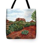 Sadona Two Mountains Tote Bag