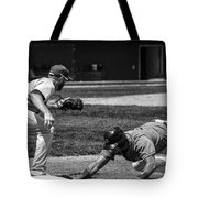 Safe At First Tote Bag