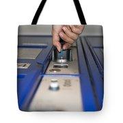 Safe Box Tote Bag