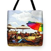 Safe From The Wind Tote Bag