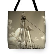 Safe Harbor At Sunset Tote Bag