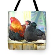 I'm Feeling So Safe Inside Our Shed With You  Tote Bag
