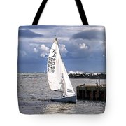 Safely Back To Harbour Tote Bag
