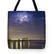 Safety Harbor Pier Tote Bag