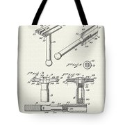 Safety Razor Patent 1937 Tote Bag