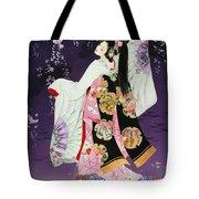 Sagi No Mai Tote Bag by Haruyo Morita