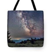 Sagittarius Over Sagebrush Tote Bag