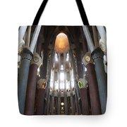 Sagrada Familia Gaudi 1 Barcelona Spain Tote Bag