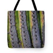 Saguaro Cactus Close-up Tote Bag