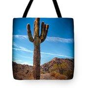Saguaro Cactus Tote Bag