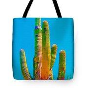 Saguaro Colors Tote Bag