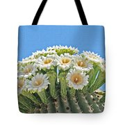 Saguaro Flowers On Top Tote Bag