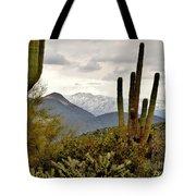 Saguaro Sentinels Tote Bag